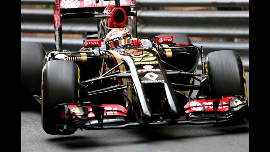 Pastor Maldonado - Lotus - Formel 1 - GP Monaco - 22. Mai 2014