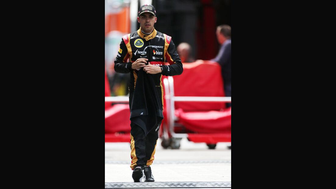 Pastor Maldonado - Lotus - Formel 1 - GP Österreich - Spielberg - 21. Juni 2014