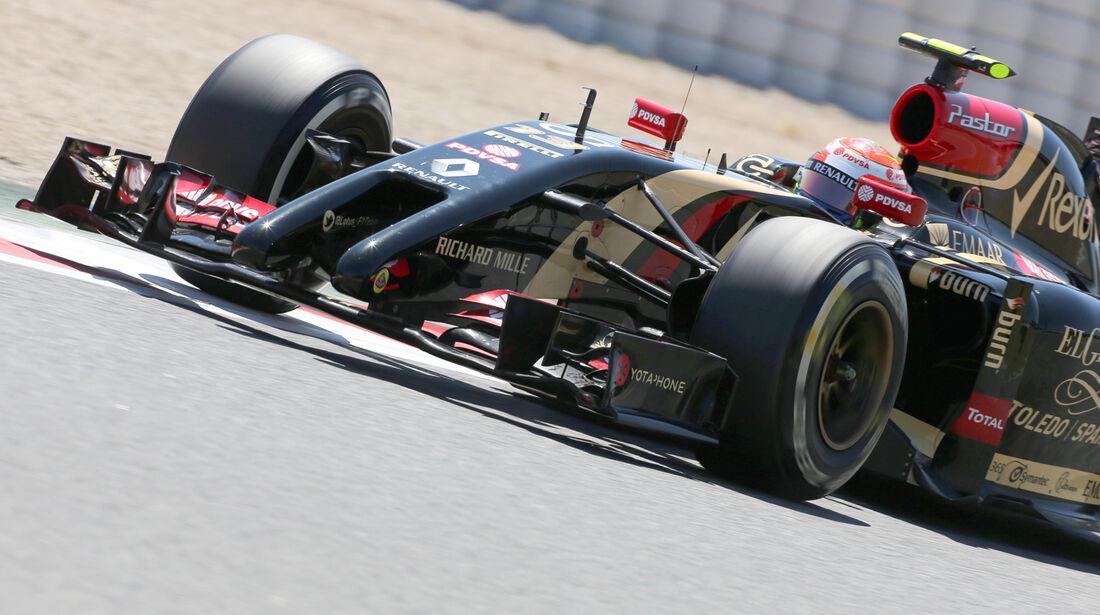 Pastor Maldonado - Lotus - Formel 1 - GP Spanien - Barcelona - 10. Mai 2014