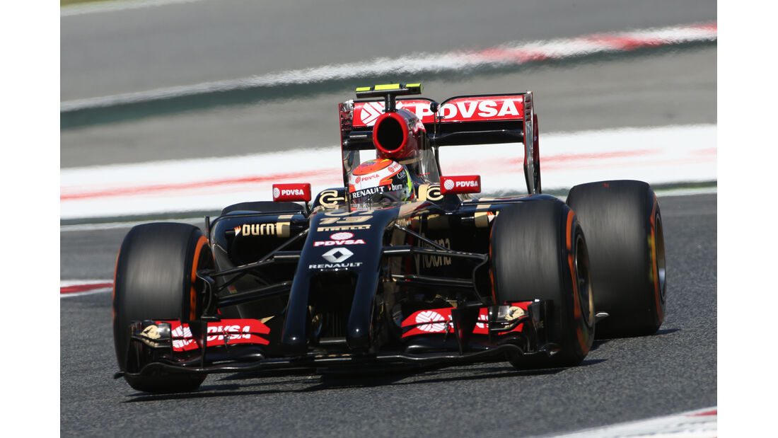 Pastor Maldonado - Lotus - Formel 1 - GP Spanien - Barcelona - 9. Mai 2014