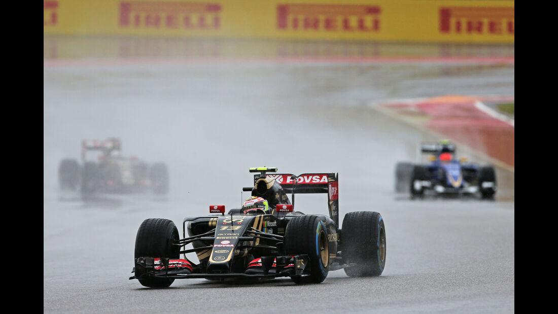 Pastor Maldonado - Lotus - Formel 1 - GP USA - Austin - Formel 1 - 24. Oktober 2015