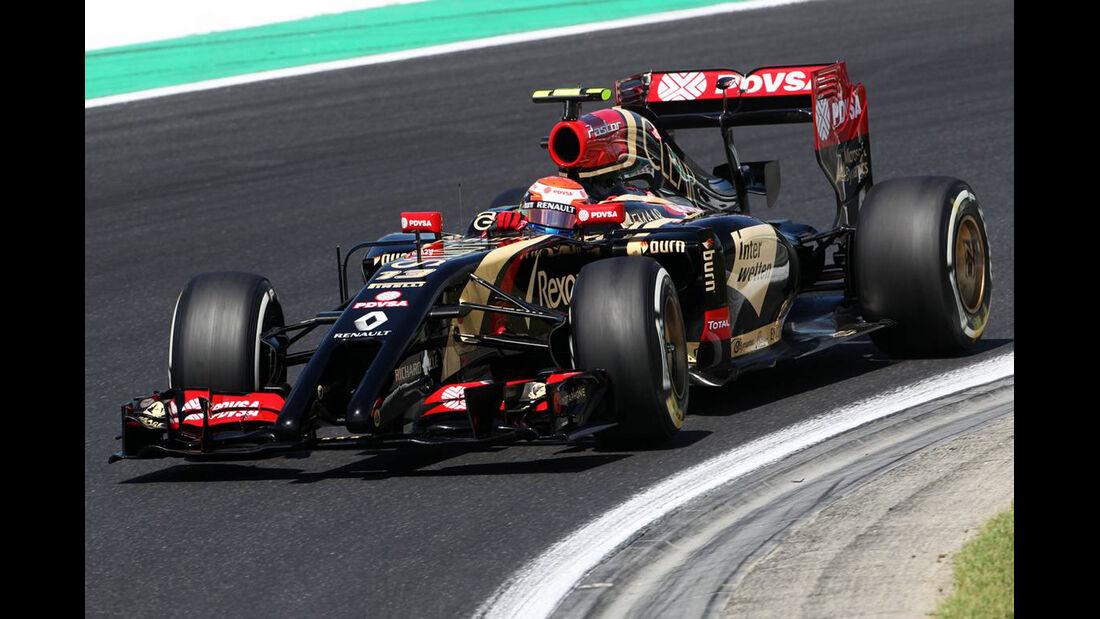 Pastor Maldonado - Lotus - Formel 1 - GP Ungarn - 25. Juli 2014