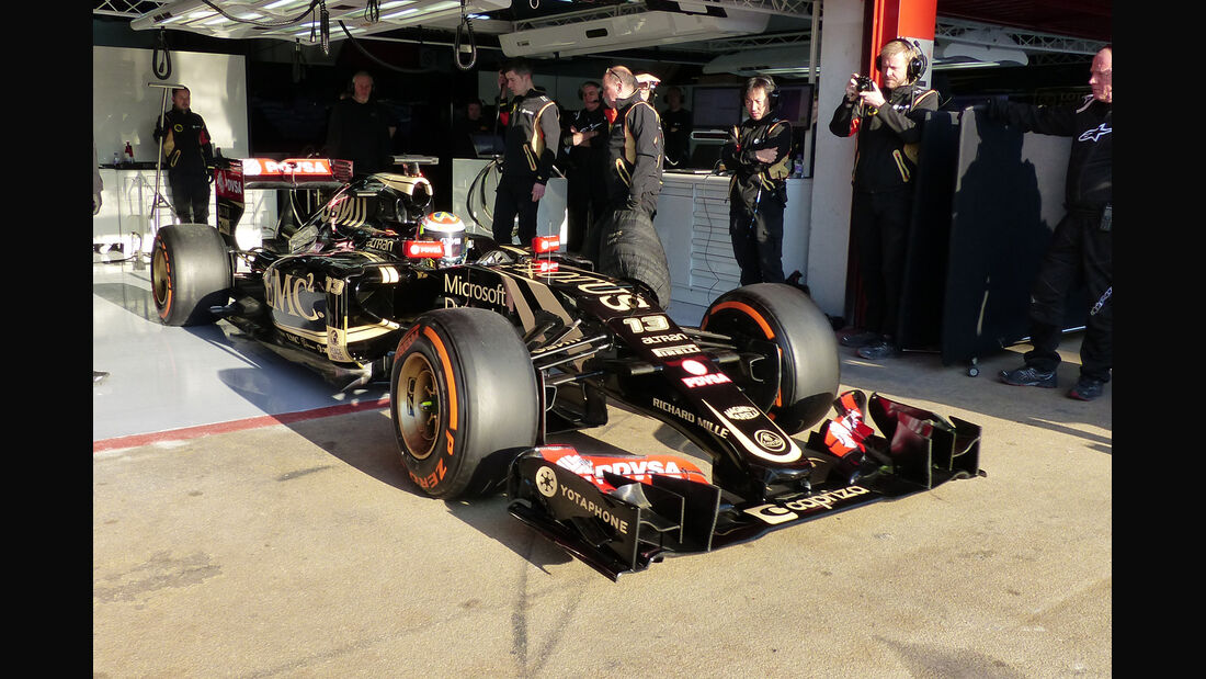 Pastor Maldonado - Lotus - Formel 1-Test - Barcelona - 19. Februar 2015