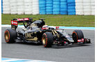 Pastor Maldonado - Lotus - Formel 1-Test - Jerez - 2. Februar 2015