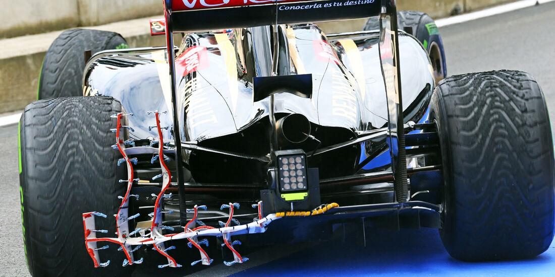 Pastor Maldonado - Lotus - Formel 1-Test - Silverstone 2014