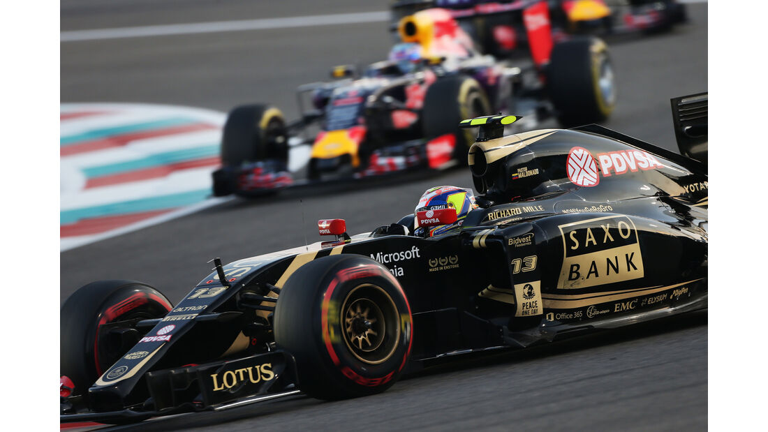 Pastor Maldonado - Lotus - GP Abu Dhabi - 28. November 2015