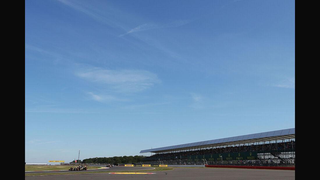 Pastor Maldonado - Lotus - GP England - Silverstone - Freitag - 3.7.2015