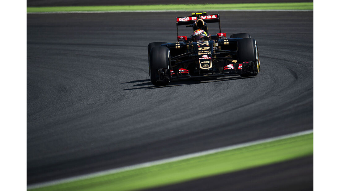 Pastor Maldonado - Lotus - GP Italien - Monza - Qualifying - 5.9.2015