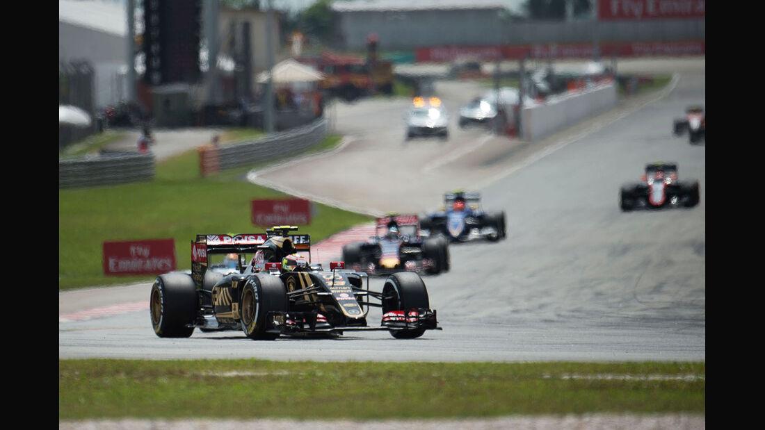 Pastor Maldonado - Lotus - GP Malaysia 2015 - Formel 1