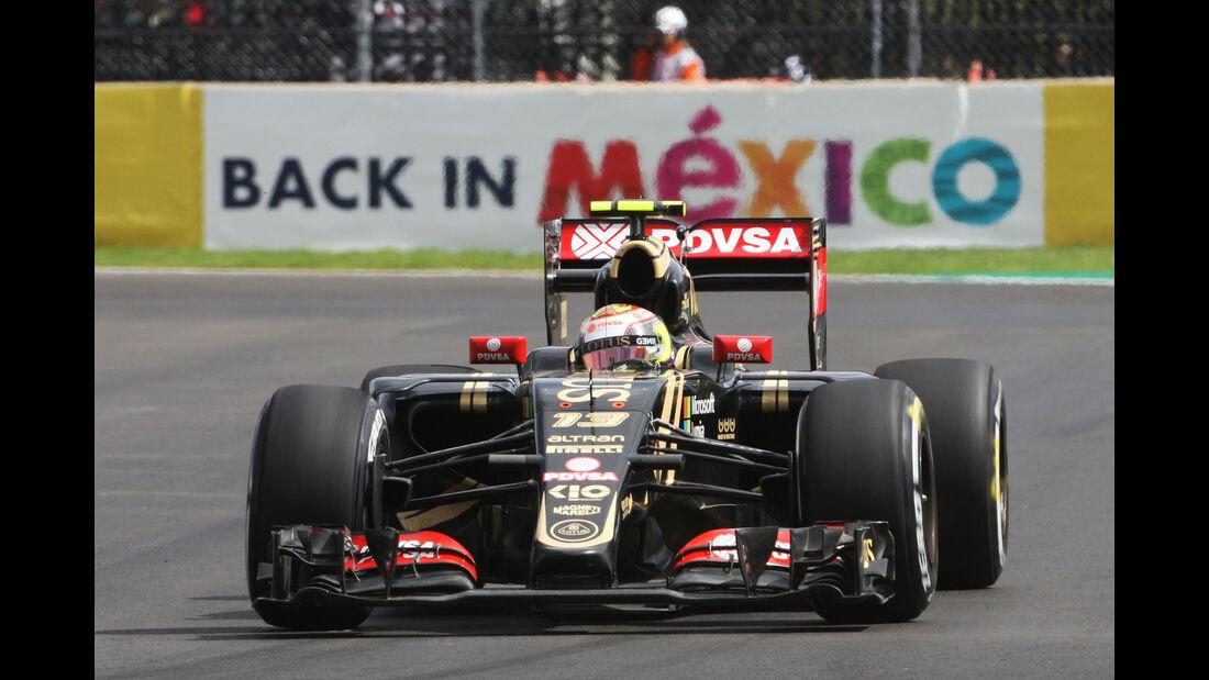 Pastor Maldonado - Lotus - GP Mexiko