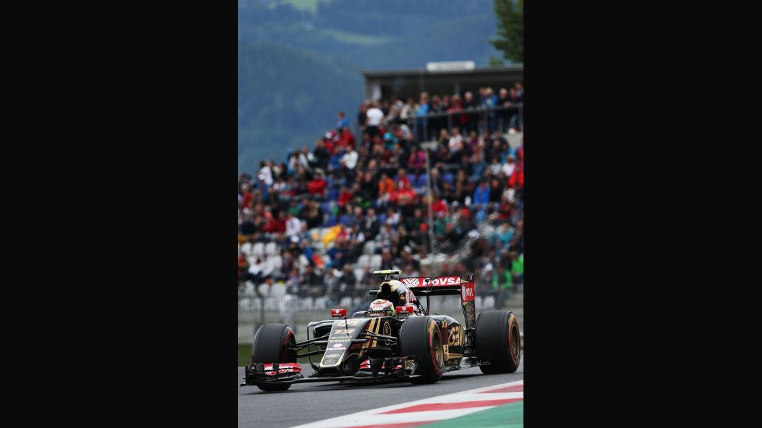 Pastor Maldonado - Lotus - GP Österreich - Qualifiying - Formel 1 - Samstag - 20.6.2015