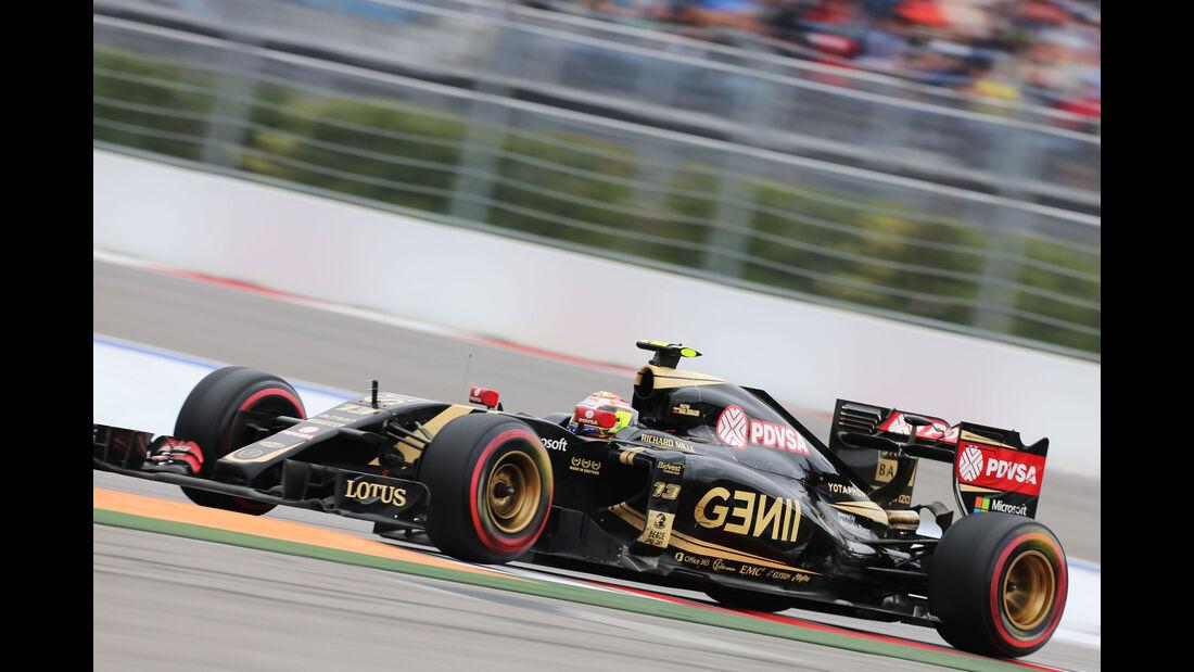 Pastor Maldonado - Lotus - GP Russland 2015 - Sochi - Rennen