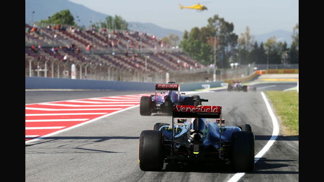 Pastor Maldonado - Lotus - GP Spanien - Barcelona - Freitag - 8.5.2015