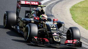 Pastor Maldonado - Lotus - GP Ungarn - Budapest - Freitag - 24.7.2015