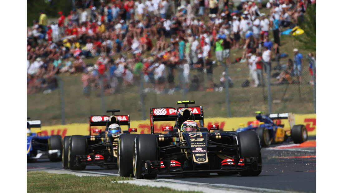 Pastor Maldonado - Lotus - GP Ungarn - Budapest - Rennen - Sonntag - 26.7.2015