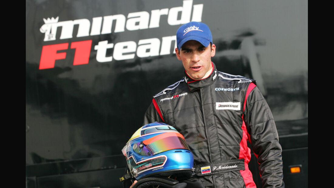 Pastor Maldonado Minardi