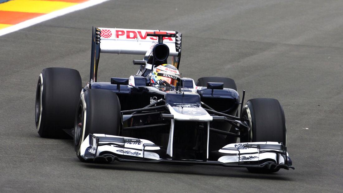Pastor Maldonado Williams 2012