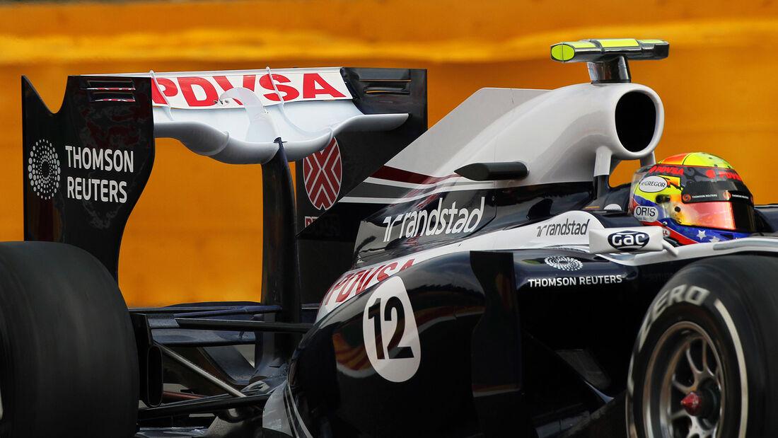 Pastor Maldonado - Williams FW33 - GP Belgien 2011