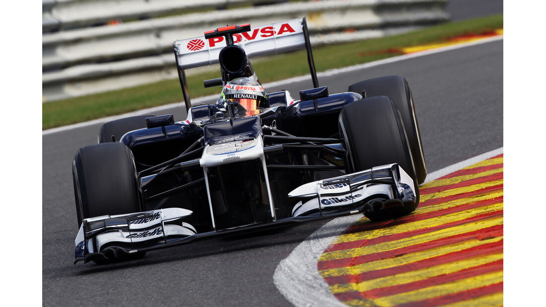 Pastor Maldonado - Williams - Formel 1 - GP Belgien - Spa-Francorchamps - 1. September 2012