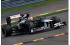 Pastor Maldonado - Williams - Formel 1 - GP Belgien - Spa-Francorchamps - 1. September 2012