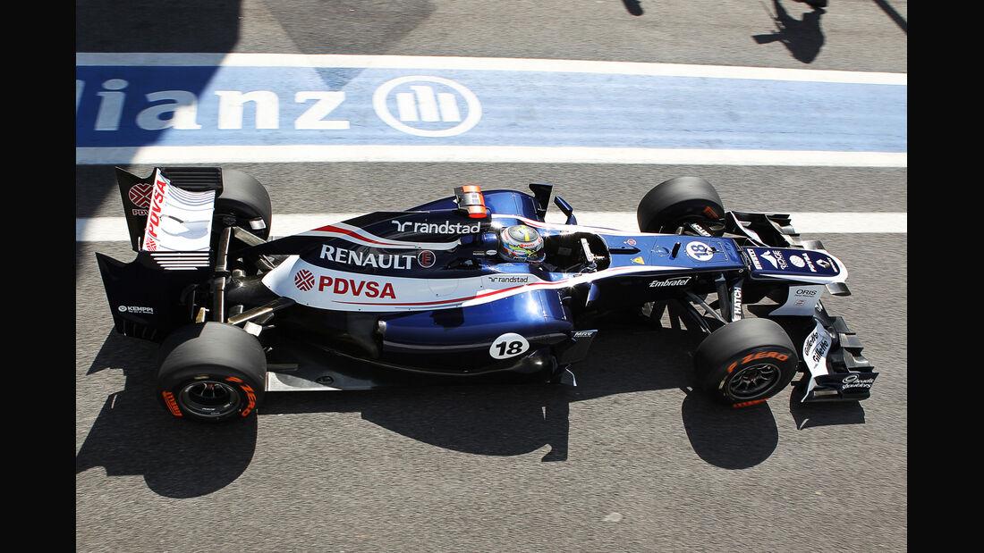 Pastor Maldonado - Williams - Formel 1 - GP Brasilien - Sao Paulo - 23. November 2012