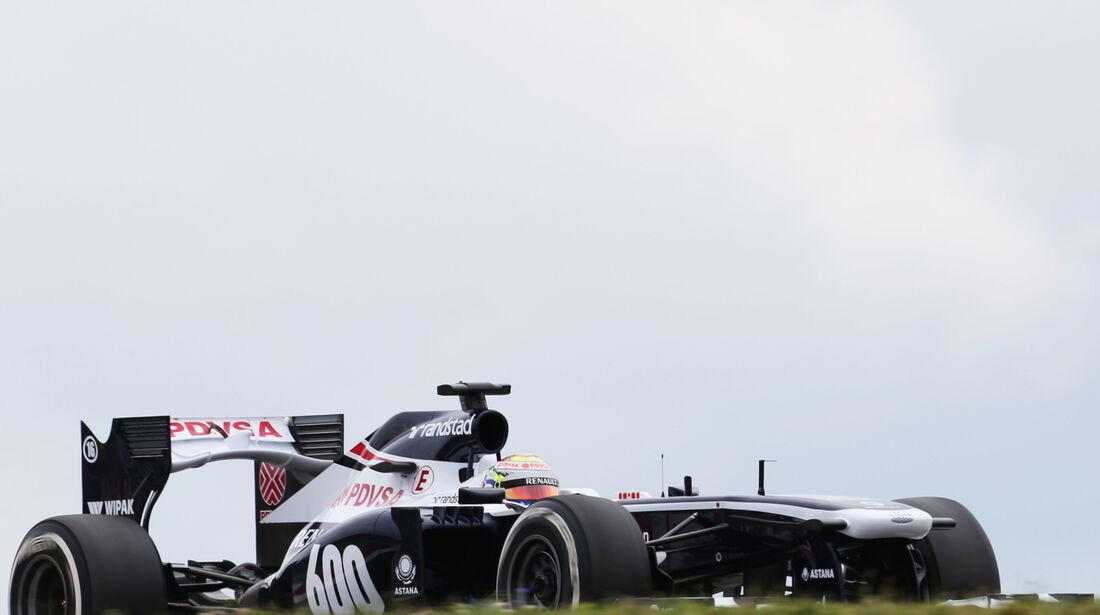 Pastor Maldonado - Williams - Formel 1 - GP Deutschland - 5. Juli 2013