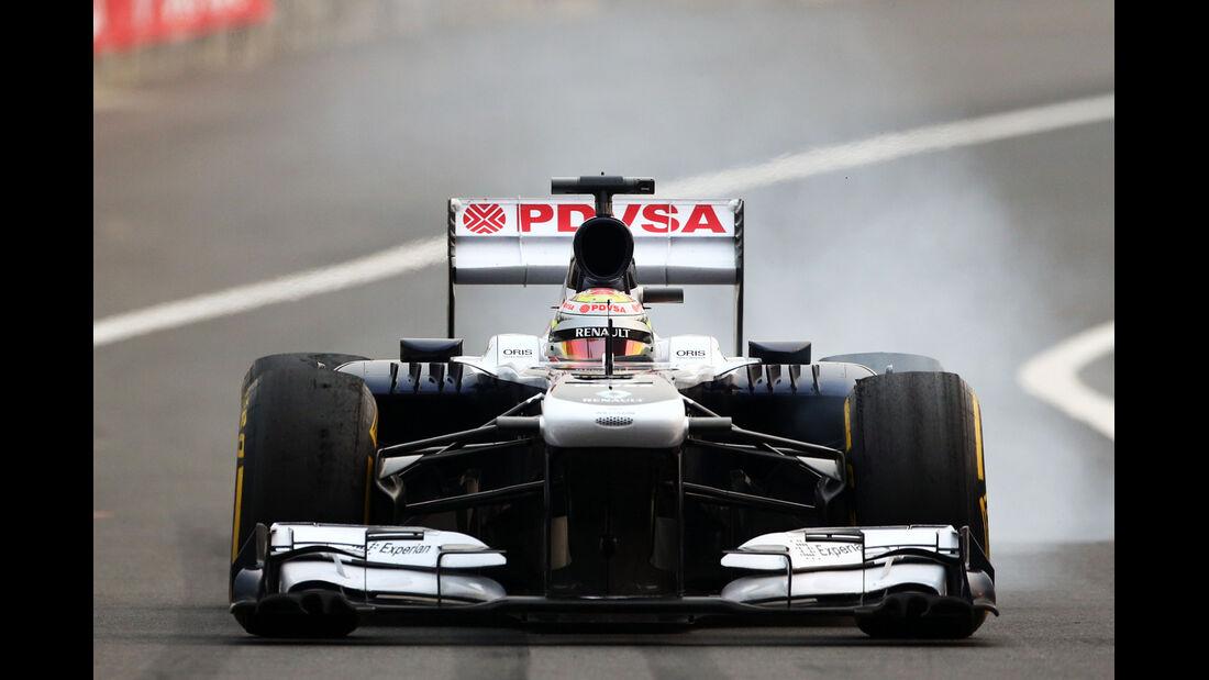 Pastor Maldonado - Williams - Formel 1 - GP Indien - 25. Oktober 2013