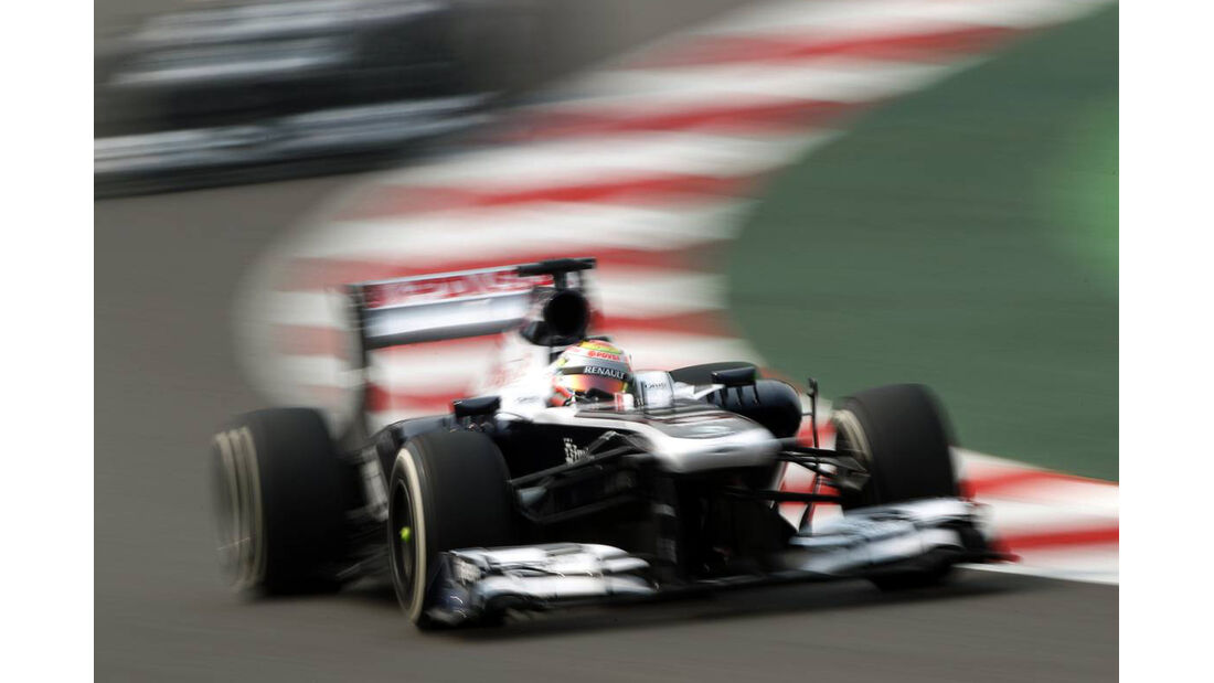 Pastor Maldonado - Williams - Formel 1 - GP Indien - 26. Oktober 2013
