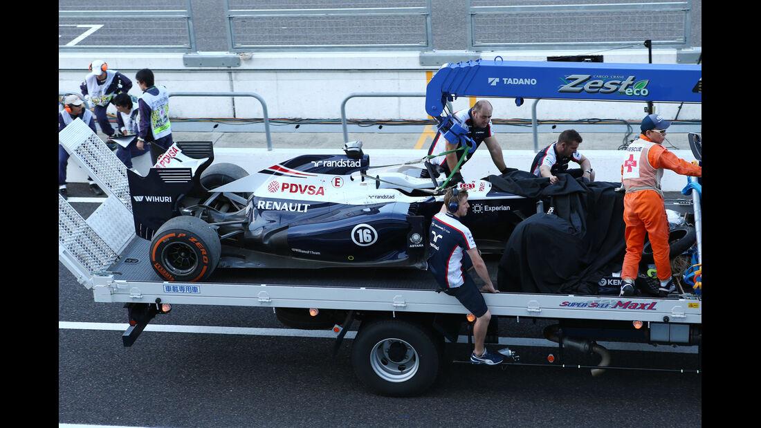 Pastor Maldonado - Williams - Formel 1 - GP Japan - Suzuka - 11. Oktober 2013