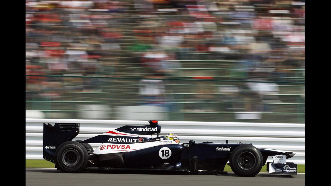 Pastor Maldonado - Williams - Formel 1 - GP Japan - Suzuka - 6. Oktober 2012