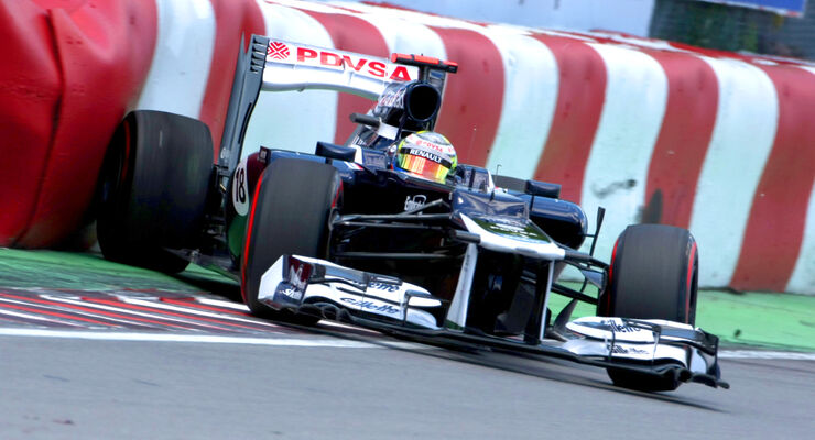 Pastor Maldonado - Williams - Formel 1 - GP Kanada - 10. Juni 2012