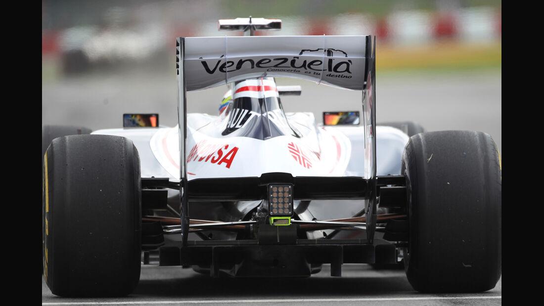Pastor Maldonado - Williams - Formel 1 - GP Kanada - 8. Juni 2012