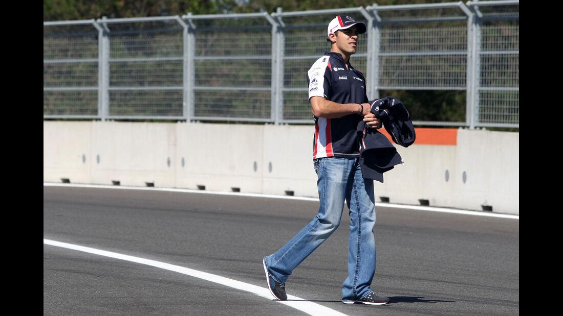 Pastor Maldonado - Williams - Formel 1 - GP Korea - 11. Oktober 2012