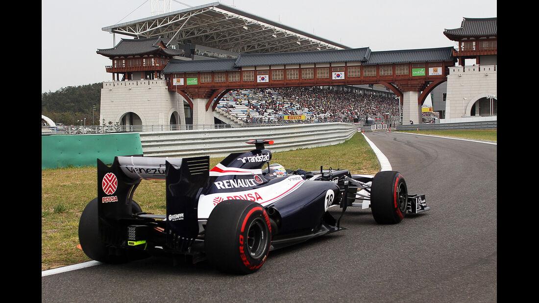 Pastor Maldonado - Williams - Formel 1 - GP Korea - 13. Oktober 2012