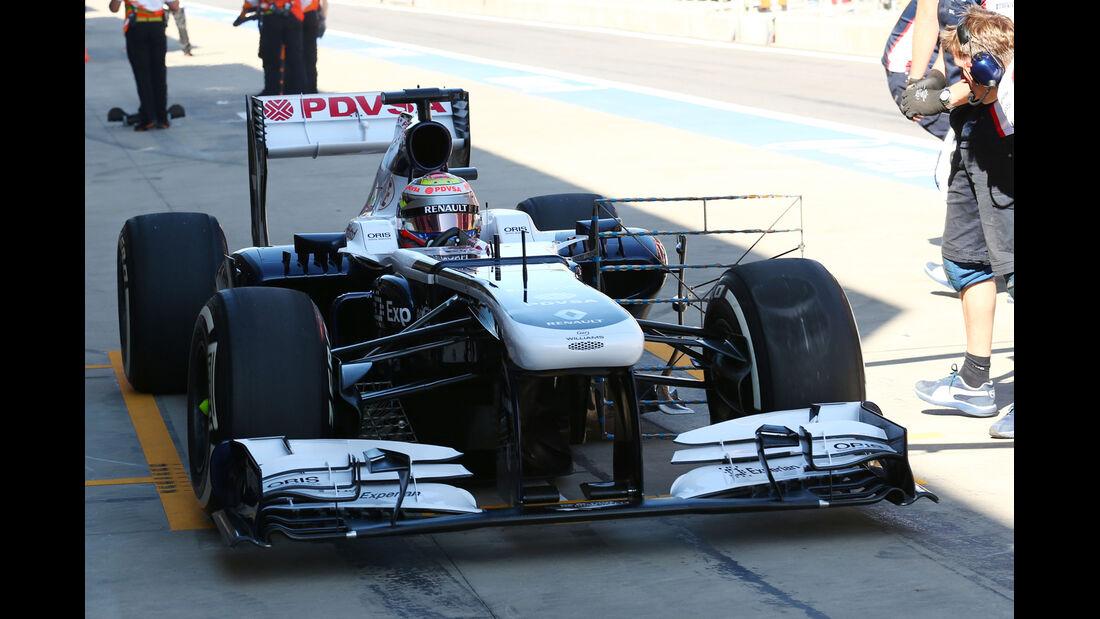 Pastor Maldonado - Williams - Formel 1 - GP Korea - 4. Oktober 2013
