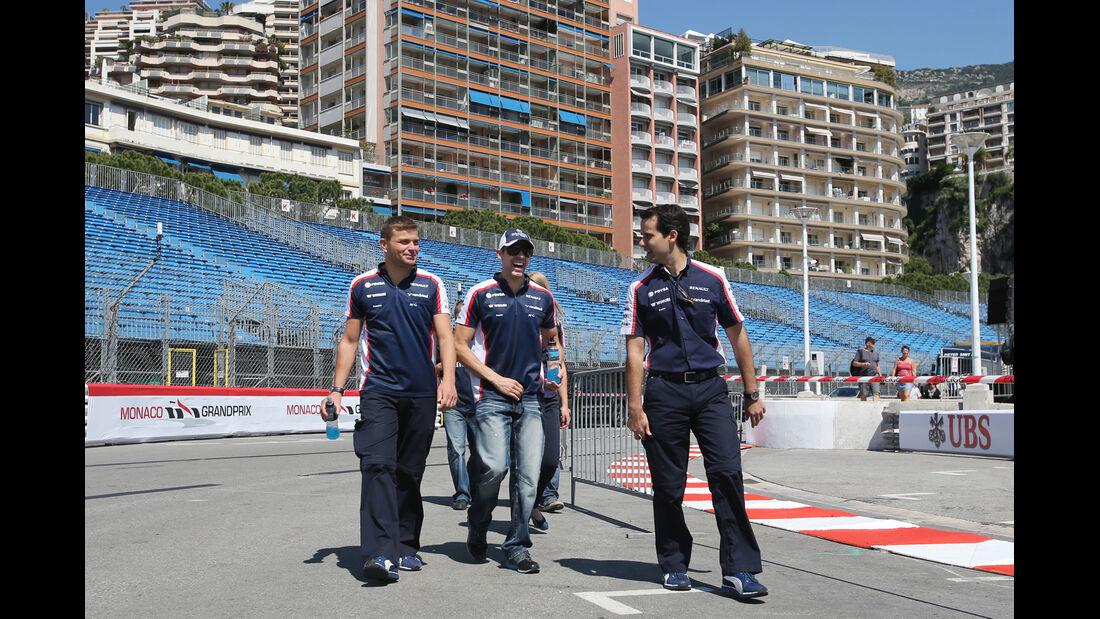 Pastor Maldonado - Williams - Formel 1 - GP Monaco - 22. Mai 2013