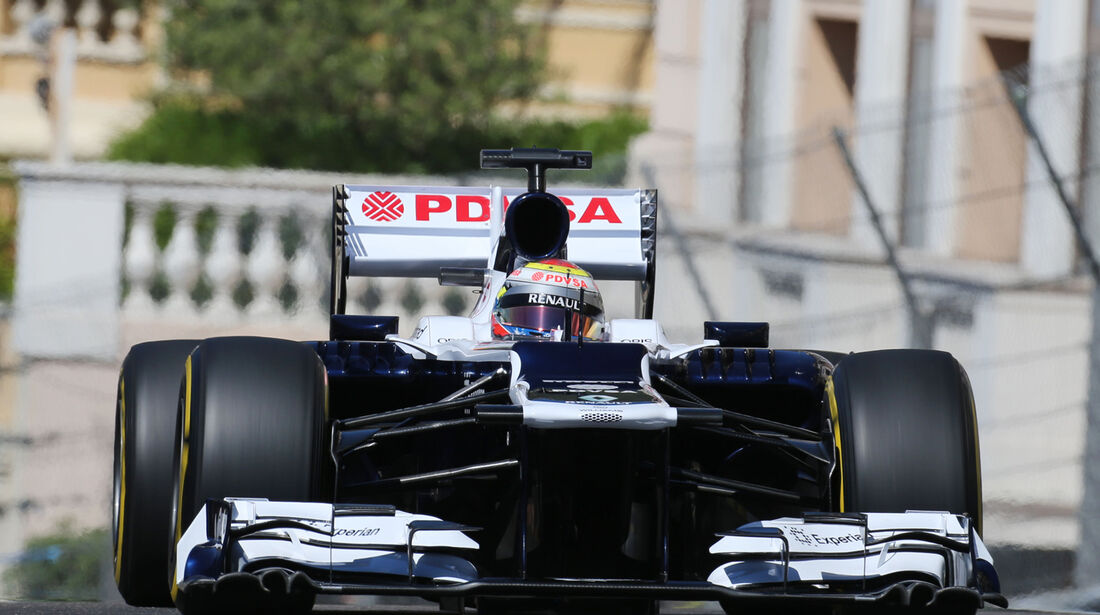 Pastor Maldonado - Williams - Formel 1 - GP Monaco - 23. Mai 2013