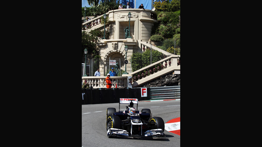 Pastor Maldonado - Williams - Formel 1 - GP Monaco - 24. Mai 2012