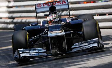 Pastor Maldonado - Williams - Formel 1 - GP Monado - 24. Mai 2012