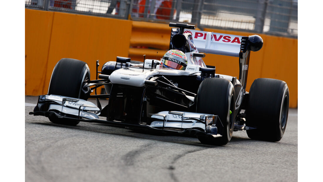 Pastor Maldonado - Williams - Formel 1 - GP Singapur - 20. September 2013