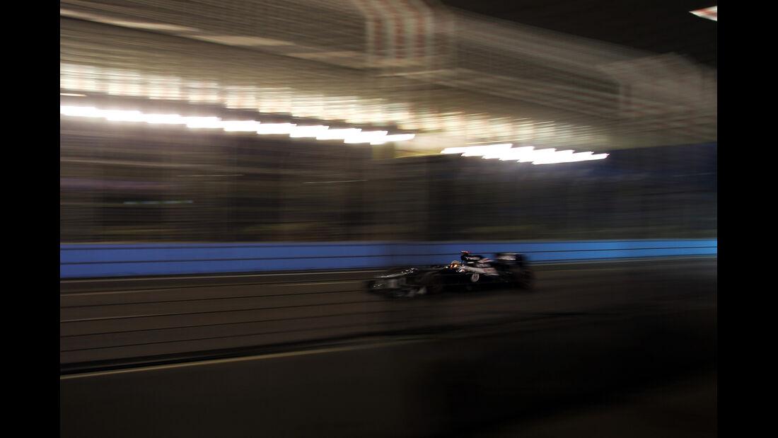 Pastor Maldonado - Williams - Formel 1 - GP Singapur - 22. September 2012