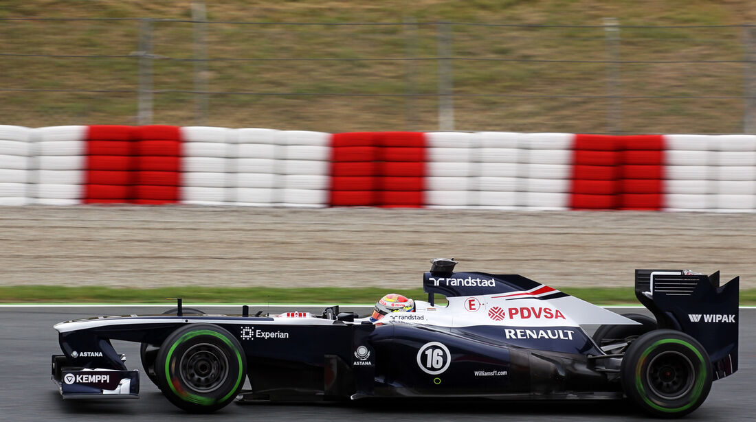 Pastor Maldonado - Williams - Formel 1 - GP Spanien - 10. Mai 2013