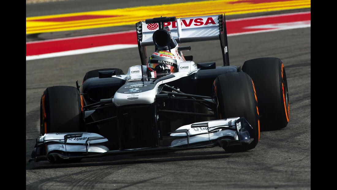 Pastor Maldonado - Williams - Formel 1 - GP USA - 16. November 2013