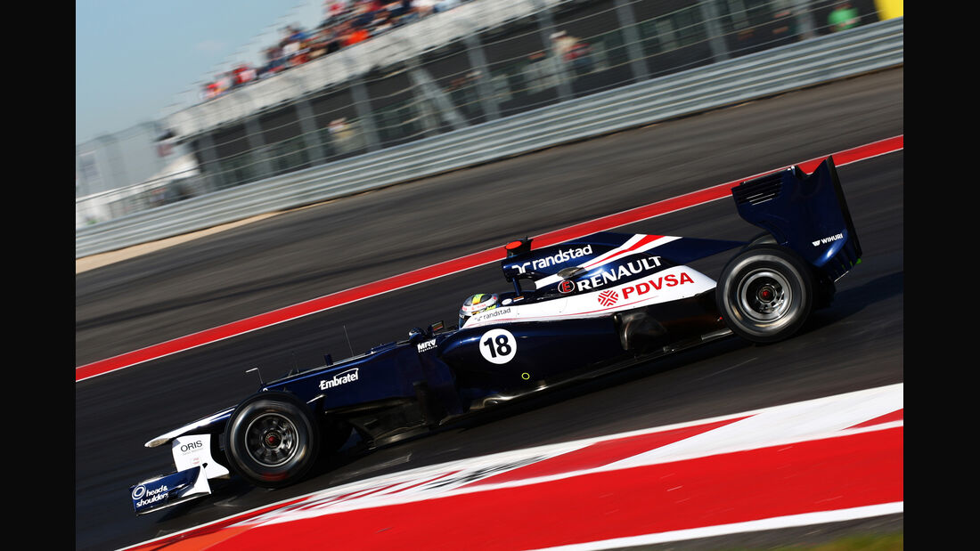 Pastor Maldonado - Williams - Formel 1 - GP USA - Austin - 17. November 2012