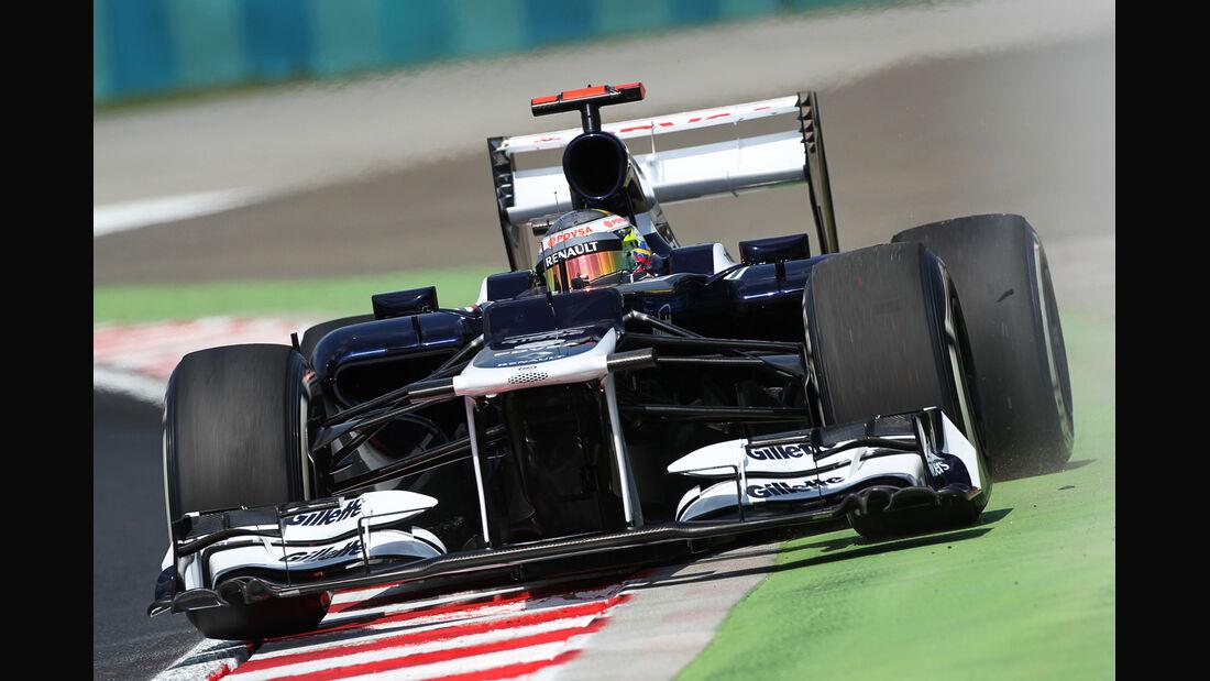 Pastor Maldonado - Williams - Formel 1 - GP Ungarn - Budapest - 27. Juli 2012