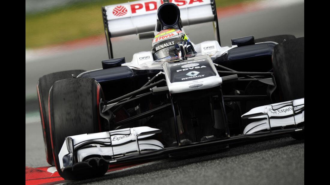 Pastor Maldonado, Williams, Formel 1-Test, Barcelona, 01. März 2013