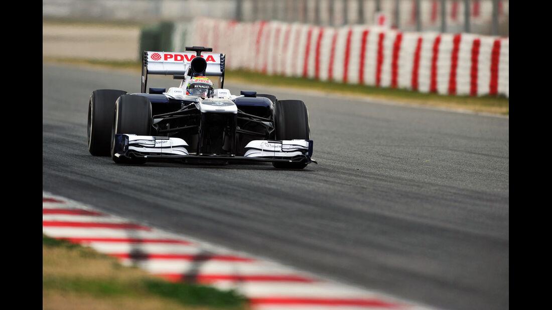 Pastor Maldonado, Williams, Formel 1-Test, Barcelona, 19. Februar 2013