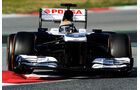 Pastor Maldonado - Williams - Formel 1 - Test - Barcelona - 3. März 2013
