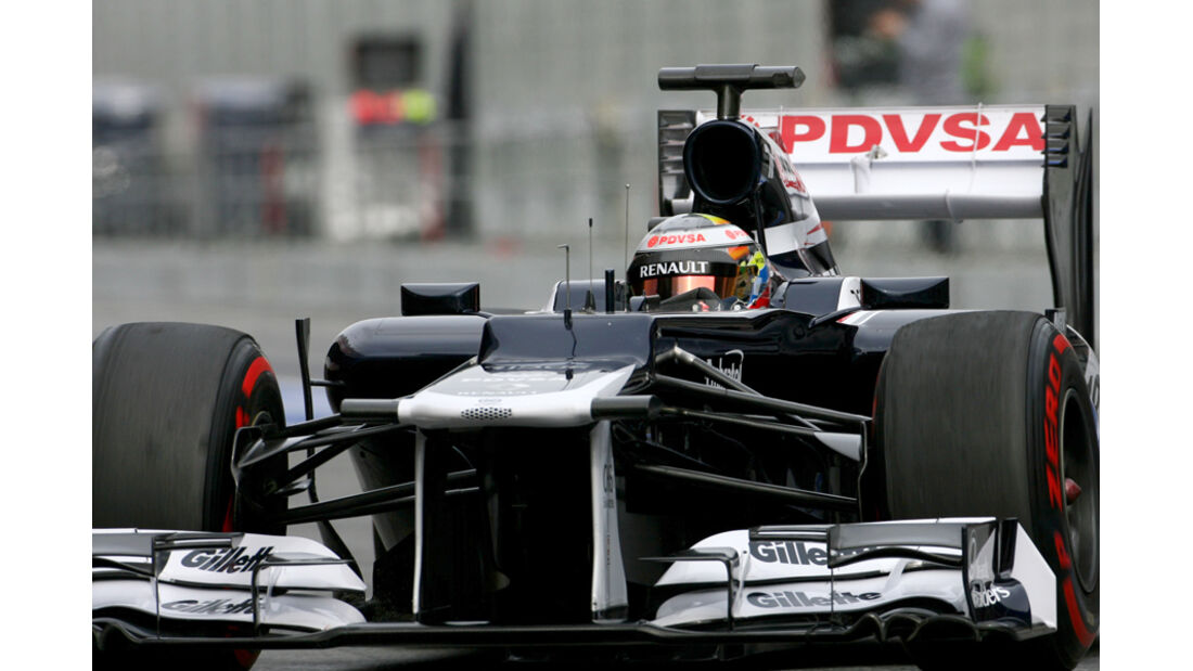 Pastor Maldonado - Williams - Formel 1-Test Barcelona - 4. März 2012