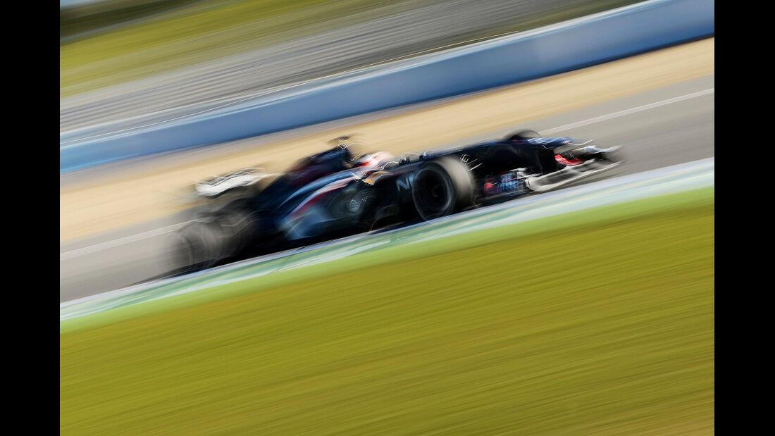 Pastor Maldonado, Williams, Formel 1-Test, Jerez, 6.2.2013